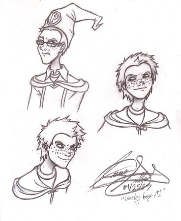 HP: Weasley Boys