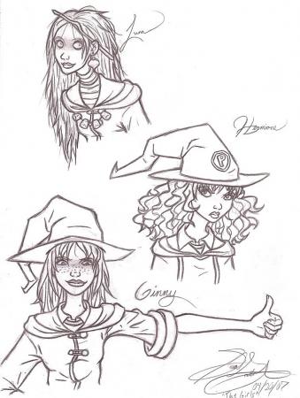 HP: Hogwarts Girls