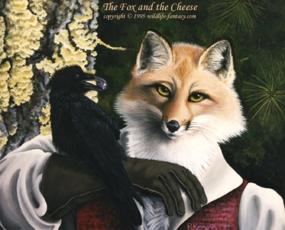 The Fox and the Cheese
