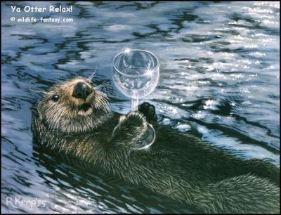 Ya 'Otter' Relax!