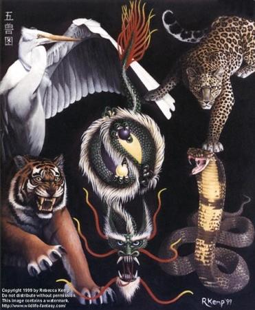 The Five Animals