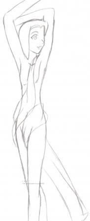 Dancer Kikyo wip