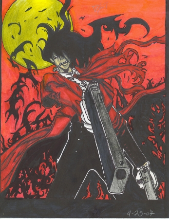 Alucard says Goodbye for you..