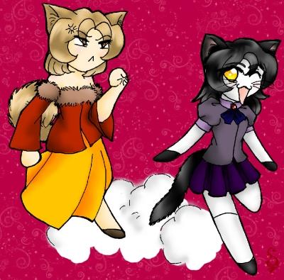 Emma and Ebony