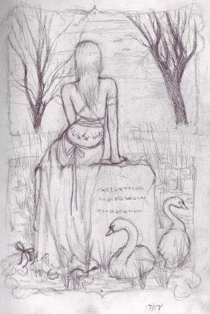 Graveyard Swans