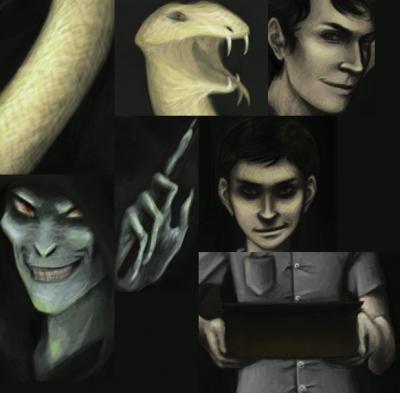 I am Lord Voldemort - closeups