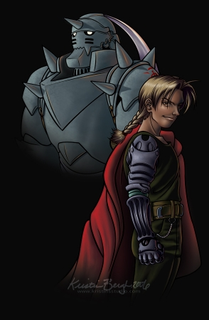 The Brothers Elric: Ed and Al