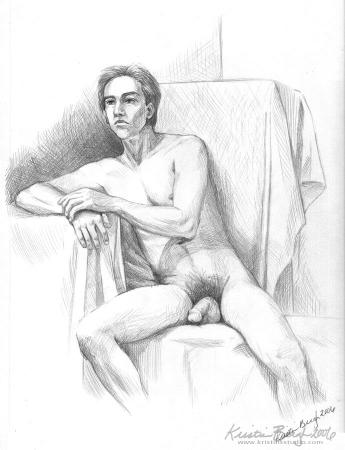 Figure Drawing - Undraped Male