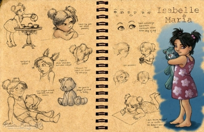 Isabelle Maria: Design Sheet