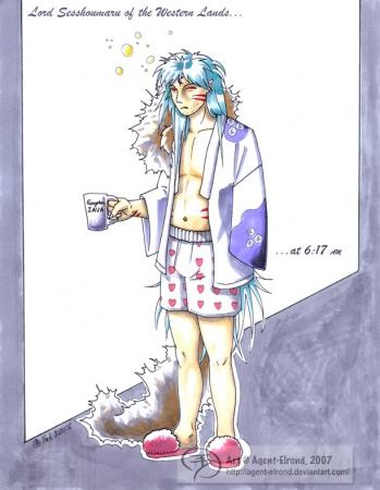 Sesshoumaru in the Morning