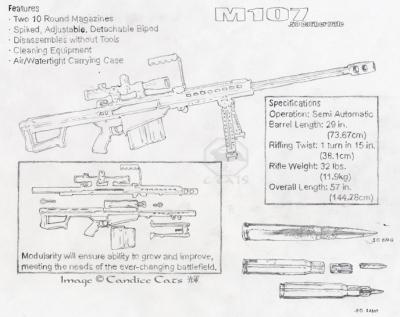 M107 .50 Caliber Rifle