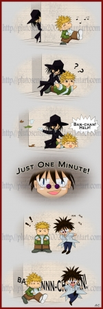 Just one minute!