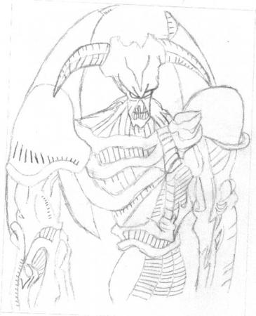 Sketch SummonSkull