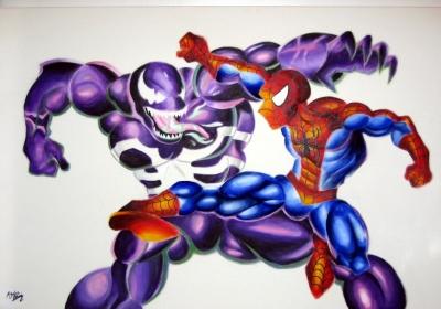 Spiderman Vs. Venom