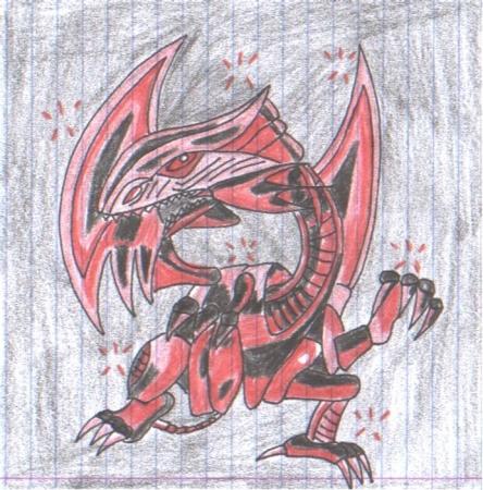 Red Eyes Dark dragon >_>