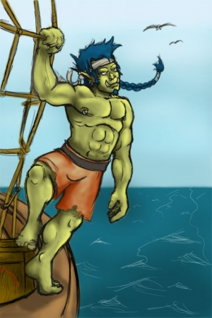 Jeric  Orcish Sailor