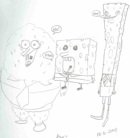 spongebob's cousins