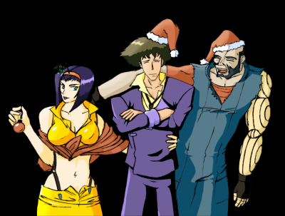 Cowboy Bebop - Christmas Crew