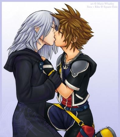 RikuSora- Kiss Me Like This