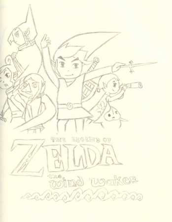 Zelda the windwaker