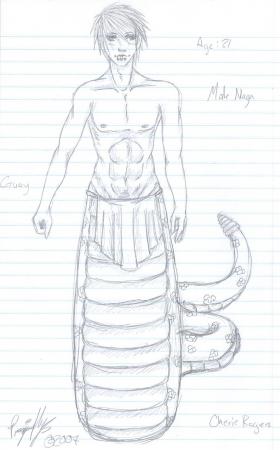 Guoy ~ Male Naga