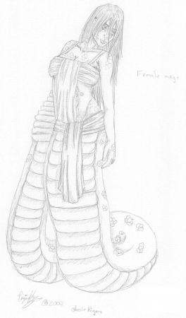 Asrun ~ Female Naga