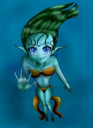 Water-elf girl
