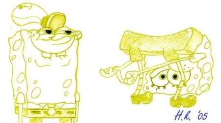 SpongeBob Doodles