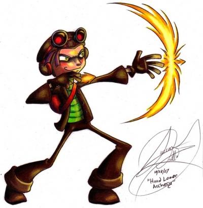 Psychonauts- Head Archery