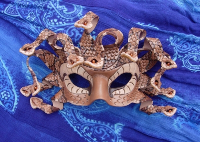 Copperhead Medusa Mask
