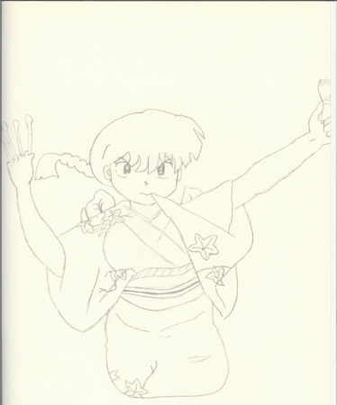 Ranma in girl form