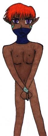 Old Artwork-Slave Boy