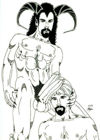 An Incubus and his Man