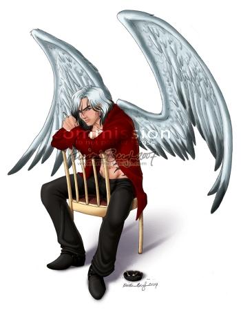 COMMISSION: Fallen Angel