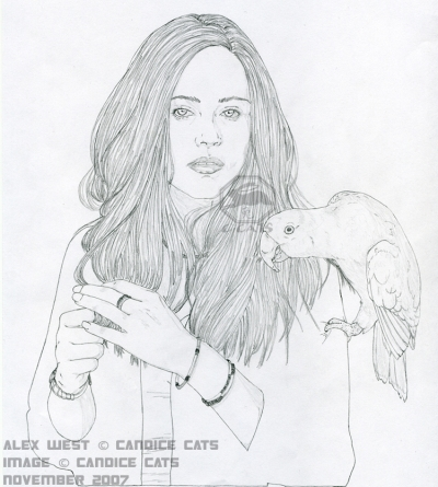 Alexandra West - sketch