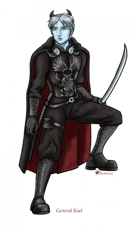 Kael Character Art