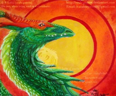 Dragon - vtforpedro commission