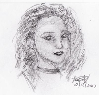 Friend sketch 1 of 3