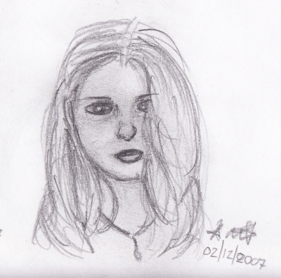 Friend sketch 3 of 3
