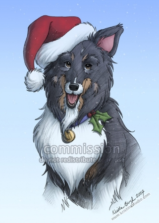 COMMISSION: Christmas Card