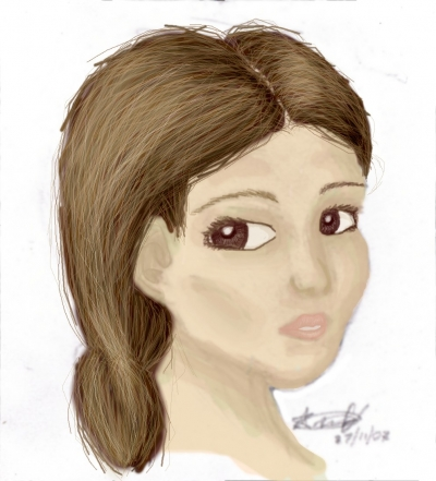 Coloured sketch