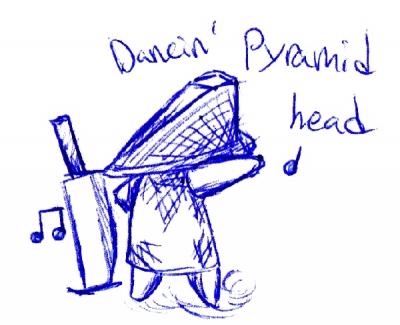 Dancin Pyramid head