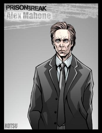 Alex Mahone Prison Break