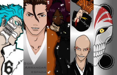 Bleach Bookmark Set 1