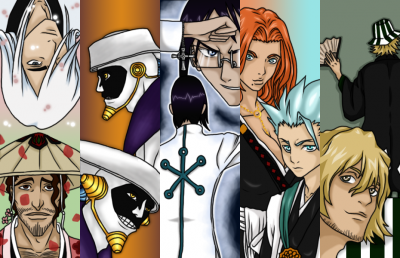 Bleach Bookmark Set 3