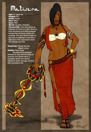 Matisera Keyblade Warrior