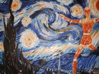 Starry Night Attacked
