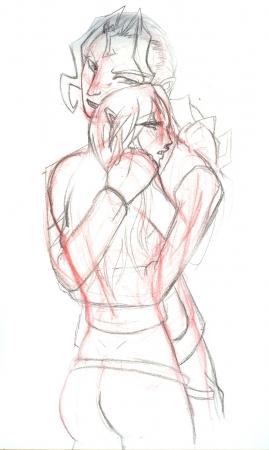 Hall Om Mig Nu - 02 sketch