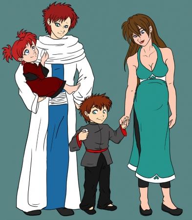 Gaara's Family