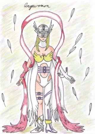 Angewomon by request